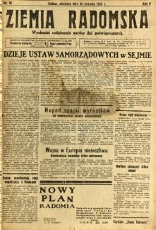 Ziemia Radomska, 1932, R. 5, nr 19