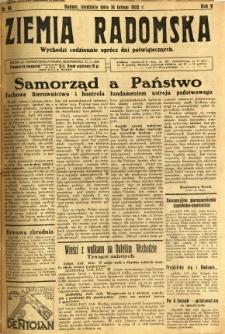 Ziemia Radomska, 1932, R. 5, nr 36
