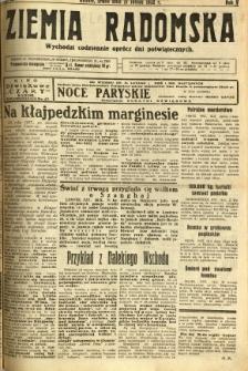 Ziemia Radomska, 1932, R. 5, nr 38