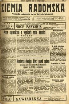 Ziemia Radomska, 1932, R. 5, nr 39