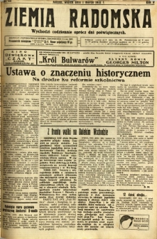 Ziemia Radomska, 1932, R. 5, nr 49