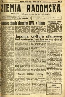 Ziemia Radomska, 1932, R. 5, nr 50