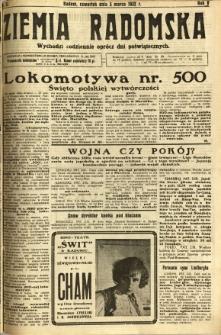 Ziemia Radomska, 1932, R. 5, nr 51