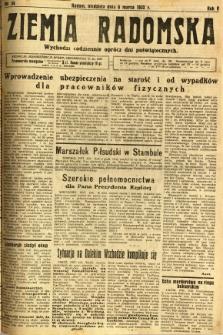 Ziemia Radomska, 1932, R. 5, nr 54