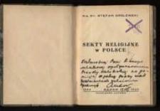 Sekty religijne w Polsce