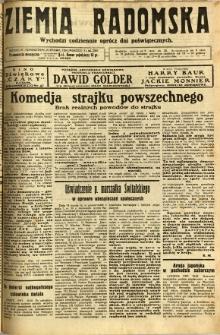 Ziemia Radomska, 1932, R. 5, nr 62