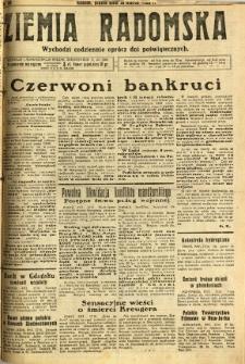 Ziemia Radomska, 1932, R. 5, nr 64