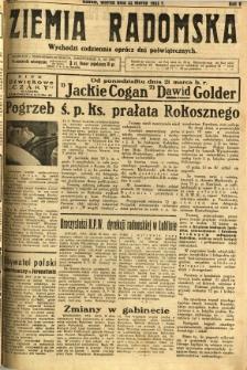 Ziemia Radomska, 1932, R. 5, nr 67