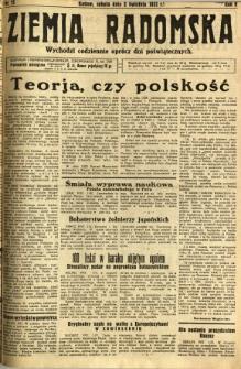 Ziemia Radomska, 1932, R. 5, nr 75