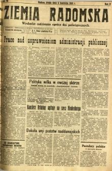 Ziemia Radomska, 1932, R. 5, nr 78
