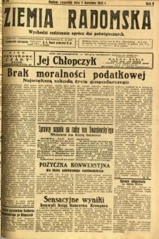Ziemia Radomska, 1932, R. 5, nr 79