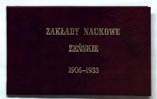 Krótki zarys historyczny rozwoju Zakładów Naukowych Żeńskich Marji Gail w Radomiu