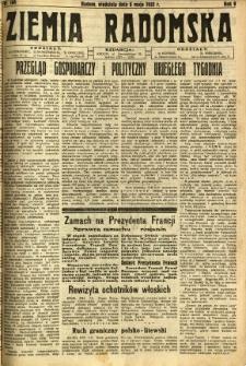 Ziemia Radomska, 1932, R. 5, nr 104