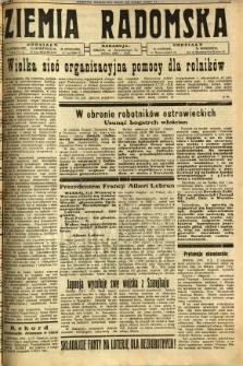 Ziemia Radomska, 1932, R. 5, nr 107
