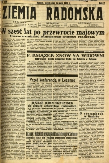 Ziemia Radomska, 1932, R. 5, nr 108