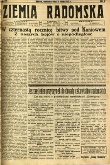 Ziemia Radomska, 1932, R. 5, nr 110