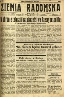 Ziemia Radomska, 1932, R. 5, nr 113