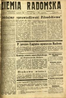 Ziemia Radomska, 1932, R. 5, nr 122