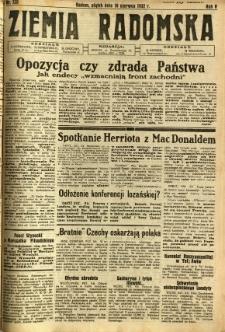 Ziemia Radomska, 1932, R. 5, nr 130