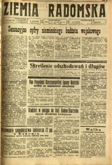 Ziemia Radomska, 1932, R. 5, nr 131