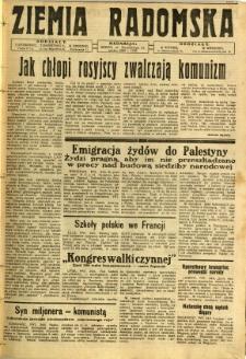 Ziemia Radomska, 1932, R. 5, nr 143