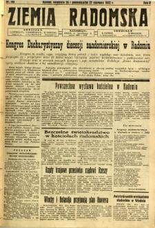 Ziemia Radomska, 1932, R. 5, nr 144