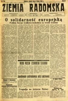 Ziemia Radomska, 1932, R. 5, nr 153