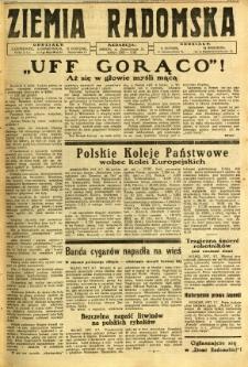 Ziemia Radomska, 1932, R. 5, nr 155
