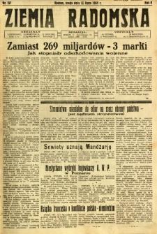 Ziemia Radomska, 1932, R. 5, nr 157