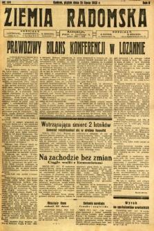 Ziemia Radomska, 1932, R. 5, nr 159