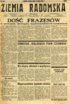 Ziemia Radomska, 1932, R. 5, nr 160