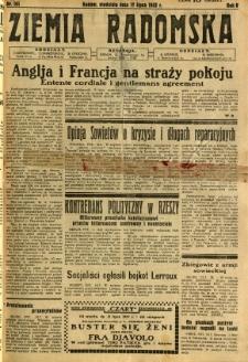 Ziemia Radomska, 1932, R. 5, nr 161