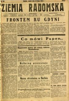 Ziemia Radomska, 1932, R. 5, nr 165