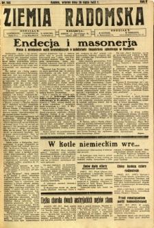 Ziemia Radomska, 1932, R. 5, nr 168