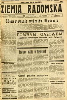 Ziemia Radomska, 1932, R. 5, nr 172