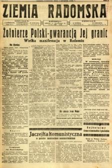 Ziemia Radomska, 1932, R. 5, nr 179