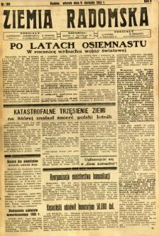 Ziemia Radomska, 1932, R. 5, nr 180