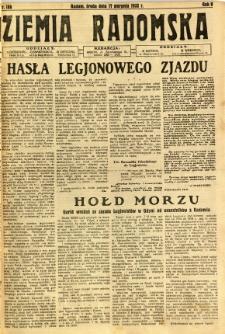 Ziemia Radomska, 1932, R. 5, nr 186