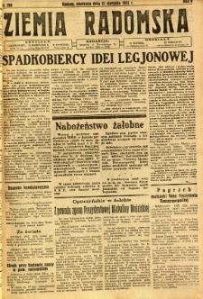 Ziemia Radomska, 1932, R. 5, nr 190