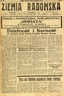 Ziemia Radomska, 1932, R. 5, nr 193