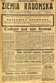 Ziemia Radomska, 1932, R. 5, nr 199