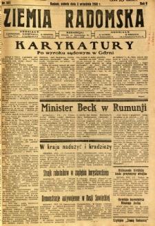 Ziemia Radomska, 1932, R. 5, nr 201