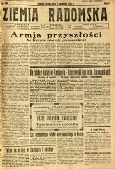 Ziemia Radomska, 1932, R. 5, nr 204