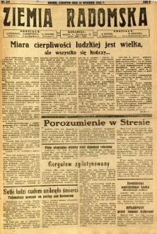 Ziemia Radomska, 1932, R. 5, nr 211