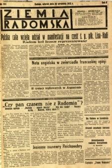 Ziemia Radomska, 1932, R. 5, nr 215