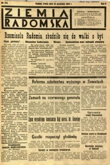 Ziemia Radomska, 1932, R. 5, nr 216