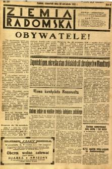 Ziemia Radomska, 1932, R. 5, nr 217