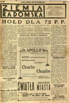 Ziemia Radomska, 1932, R. 5, nr 220