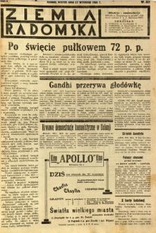 Ziemia Radomska, 1932, R. 5, nr 221