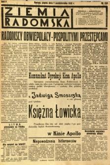 Ziemia Radomska, 1932, R. 5, nr 230